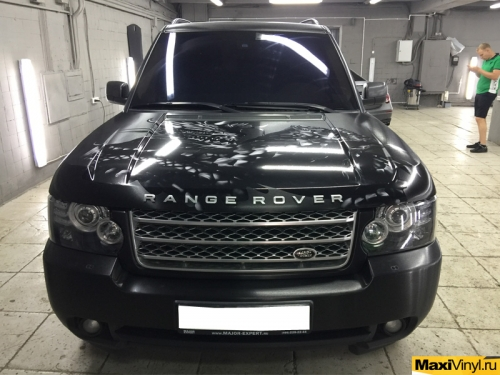 Полная оклейка Range Rover Vogue пленкой 3M